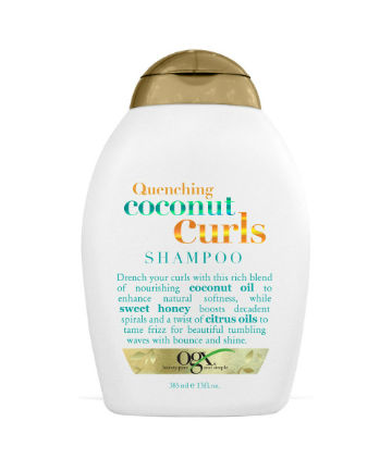 Best Curly Hair Product No. 14: OGX Quenching Coconut Curls Shampoo, $7.99