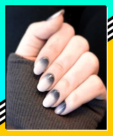 Smoky Ombr 21 Nail Designs That Make The French Manicure Cool