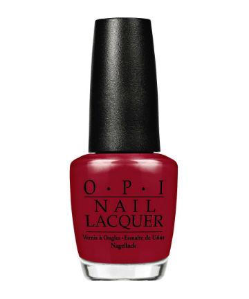 Best Nail Polish No. 2: OPI Nail Lacquer, $10