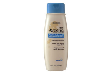 No. 20: Aveeno Positively Smooth Shower and Shave Cream, $6.49