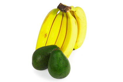 Fight Dry Skin with Bananas or Avocados