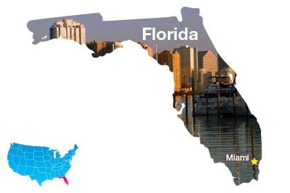 2.  Miami, Fla.
