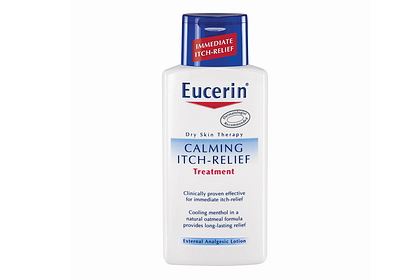 No. 5: Eucerin Calming Itch-Relief Treatment, $10.20
