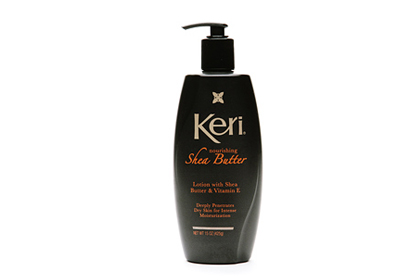 No. 1: Keri Nourishing Shea Butter Lotion, $7.99