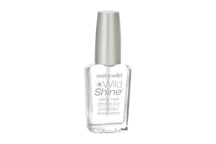No. 3: Wet n Wild Wild Shine Clear Nail Protector, $.99