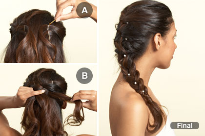 Cool French Braids Wedding Hairstyles Wedding Style Blog Hairstyle Inspiration Daily Dogsangcom
