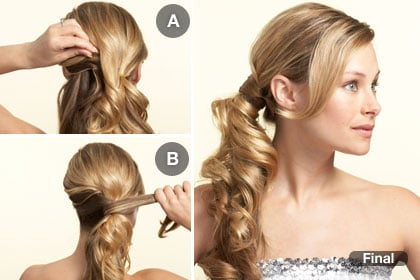 The Side-Swept Wedding Hairstyle
