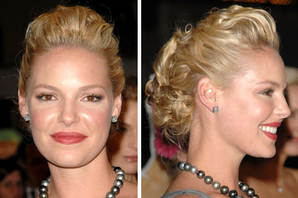 Katherine Heigl Sexy Celebrity Hairstyles For Fine Hair