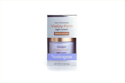 No. 1: Neutrogena Visibly Firm Night Cream, $18.49
