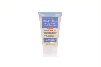 No. 8: Neutrogena Healthy Skin Anti-Wrinkle Anti-Blemish Scrub, $7.39