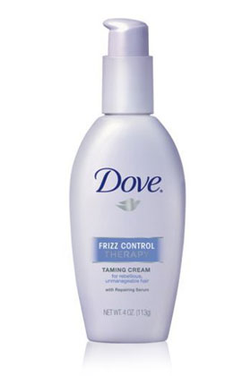 No. 16: Dove Therapy Frizz Control Taming Cream, $4.99