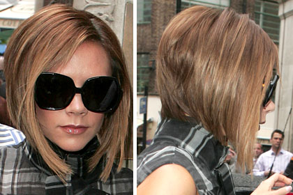How To Style Hair Like Victoria Beckham Victoria Beckham Hair Photos