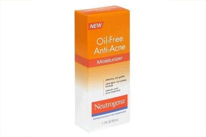 No. 7: Neutrogena Oil-Free Anti-Acne Moisturizer, $6.56