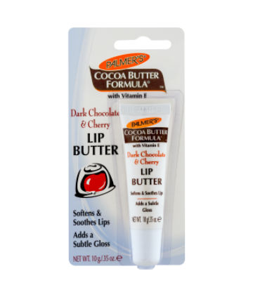 Best Lip Balm No. 3: Palmer's Cocoa Butter Formula Dark Chocolate & Cherry Lip Butter, $3.95