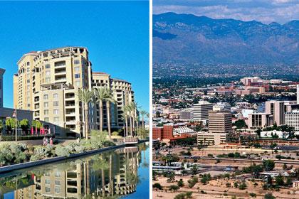 No. 4 (tie): Scottsdale and Tucson, Ariz.