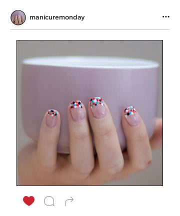 Mani of the Week: Polka-Dot French Manicure