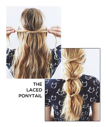 The Laced Ponytail