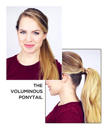 The Voluminous Ponytail