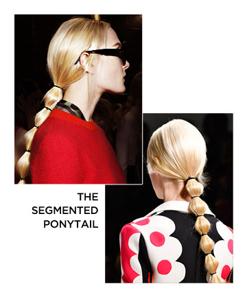 The Segmented Ponytail
