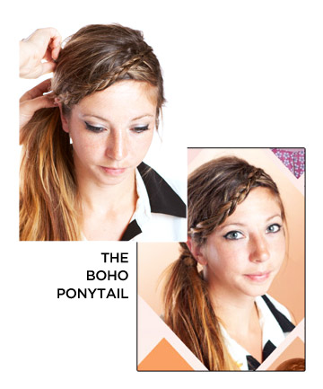 The Boho Ponytail