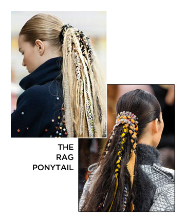 The Rag Ponytail