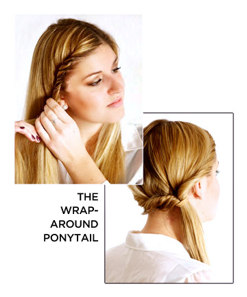 The Wrap-Around Ponytail