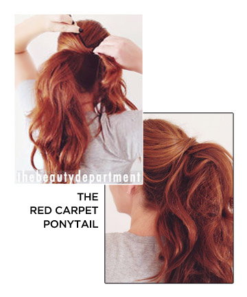 The Red Carpet Ponytail