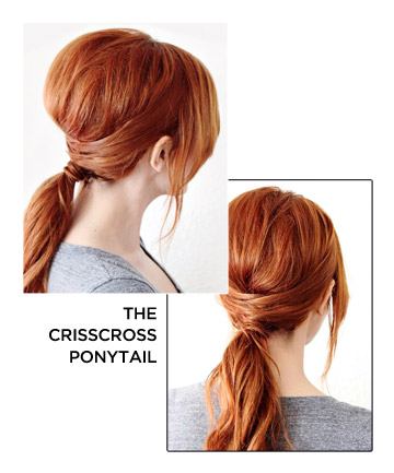 The Crisscross Ponytail