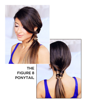The Figure 8 Ponytail