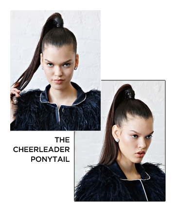 The Cheerleader Ponytail