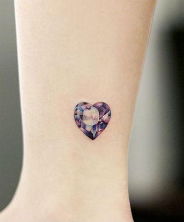 1d2e39e3e The 21 Prettiest Gemstone Tattoo Ideas Ever