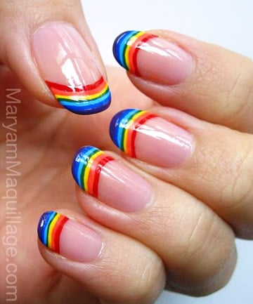 Rainbow Nails Tip Top Talons
