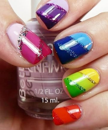 Rainbow Nails: Made in the Shade