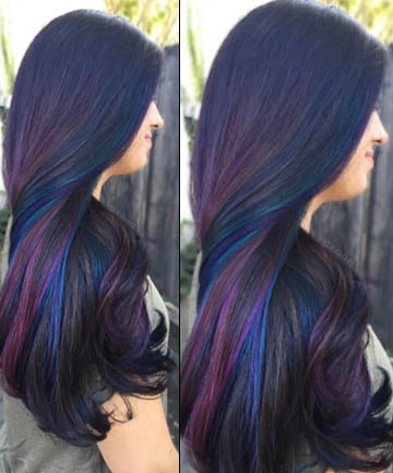 Pretty As A Peacock Here S How To Get Rainbow Hair If You