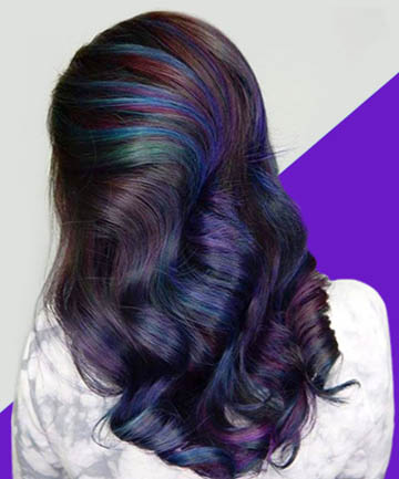Oil Slick Hair Is the Most Gorgeous Rainbow Hair Color Trend for ...