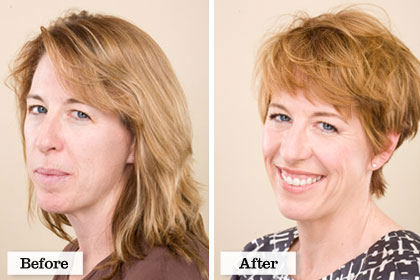 Phenomenal Real Women Makeover Hall Of Fame Hairstyles For Men Maxibearus