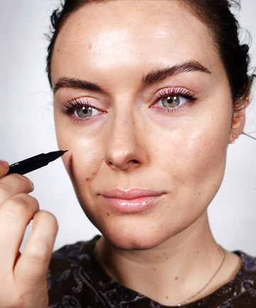 Use Two Products for the Most Realistic Freckles