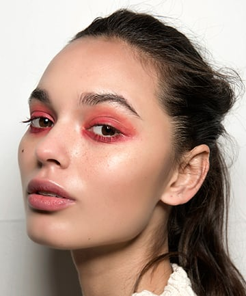 Image result for red eyeshadow