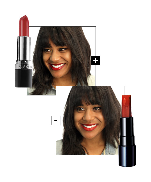 The Right Red Lips for Cool-Toned Tan Skin