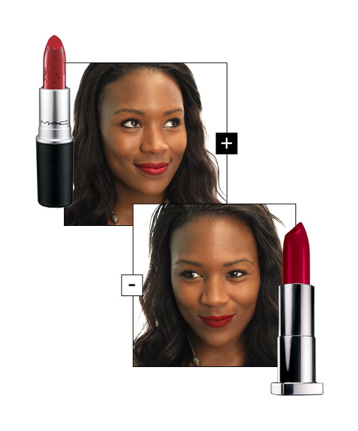 The Right Red Lips for Warm-Toned Dark Skin