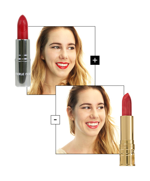 The Right Red Lips for Warm, Fair Skin