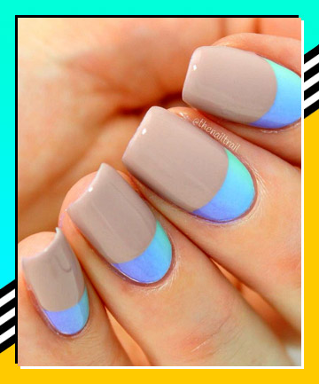 reverse tipped french manicure 21 nail designs that make