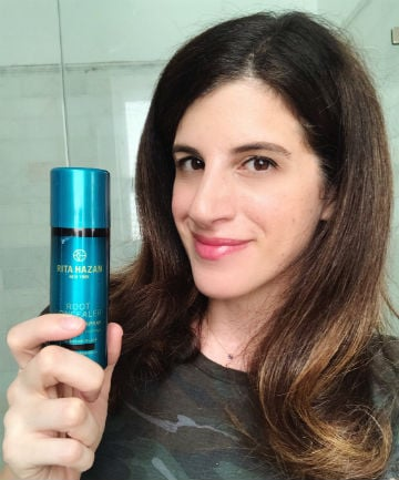 The Root Concealer Spray That Instantly Hides My Grays