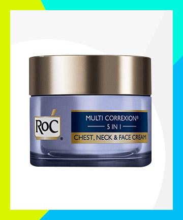 RoC Multi Correxion 5-in-1 Chest, Neck & Face Cream, $27.99