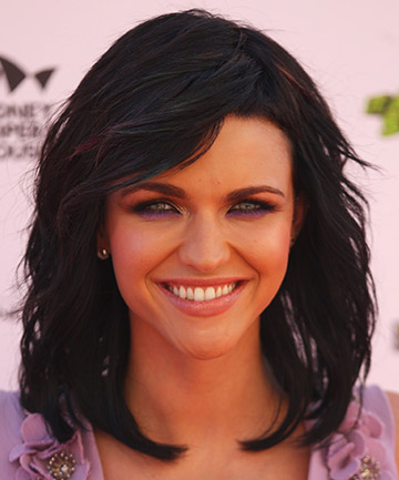 Ruby Rose's Wavy, Layered Hair in 2010