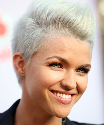 Ruby Rose's Platinum Hair in 2009