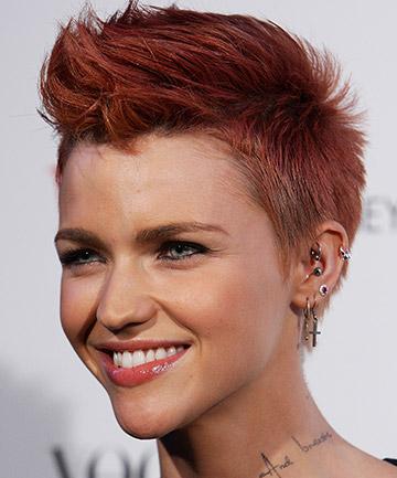 Ruby Rose's Punk Rock Hair in 2011