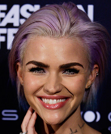Ruby Rose's Purple Hair in 2013
