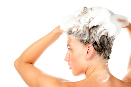 You're not massaging your scalp