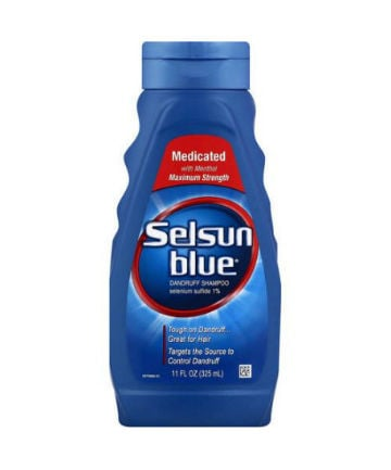 Best Dandruff Shampoo No. 12: Selsun Blue Dandruff Shampoo, $9.79